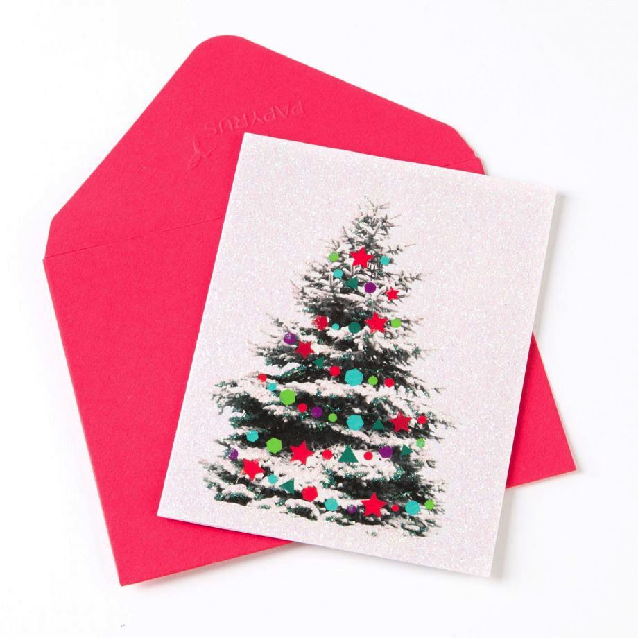Collection of Papyrus Christmas Cards Boxed - Christmas Tree ...