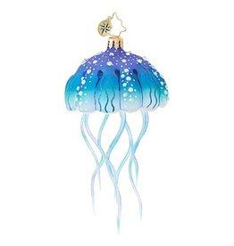 Christopher Radko Christmas Ornaments - Jellyfish Joy 6 inch 1018788