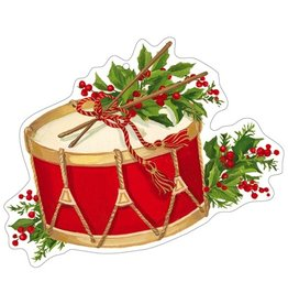 Caspari Christmas Gift Tags 4pk Musical Christmas Concert Ornament
