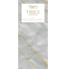 Caspari Gift Tissue Paper 4 Sheets Marble Grey