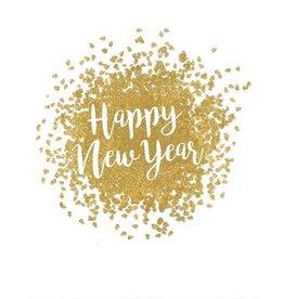 Caspari Caspari Boxed Happy New Year Cards 10pk