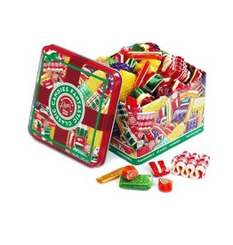 Hammonds Candies Classic Christmas Candy Mix Hard Candies In 16oz Tin