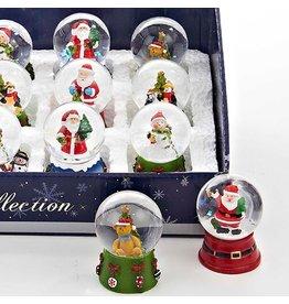 Kurt Adler Christmas Snow Globe Mini Snowglobe 2.25 inch
