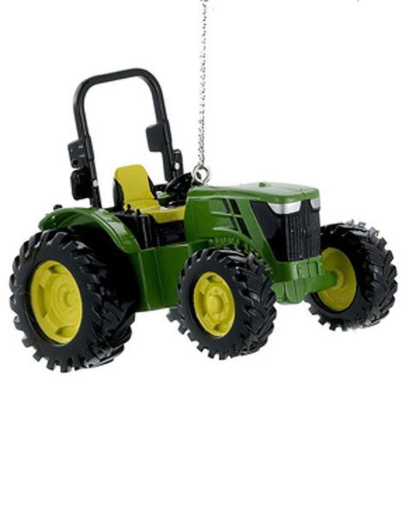 Kurt Adler John Deere Utility Tractor Farming Christmas Ornament -A ...