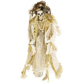 Mark Roberts Fairies Halloween Skeleton Mrs Dearly Departed 19in