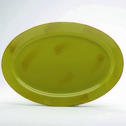 TAG Sonoma Apple Green 17\  Oval Platter & TAG Sonoma Apple Green 17\