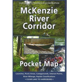 Mckenzie River Corridor Pocket Map