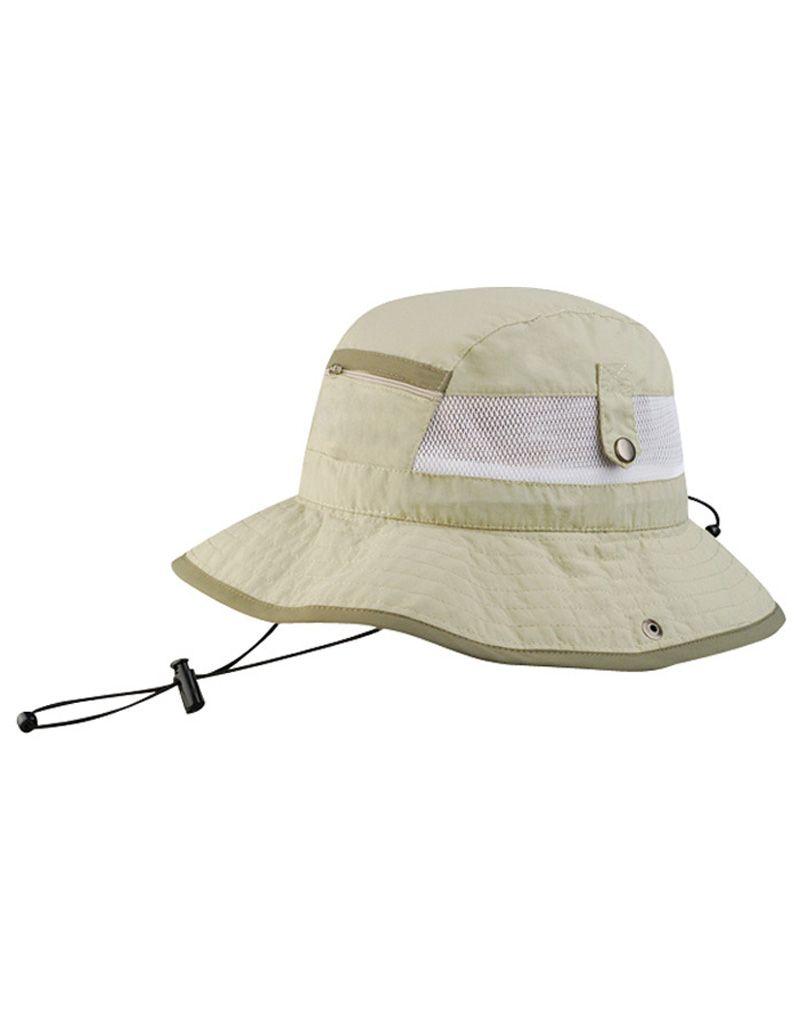 UV Pocket Bucket Hat - Charcoal