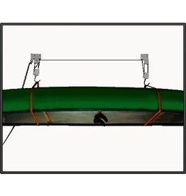 Pulley Hoist, 150# Cap. for Kayaks and Canoes