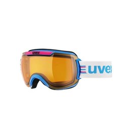 UVEX UVEX 16/17 GOGGLE DOWNHILL 2000 RACE CYAN-PINK LASERGOLD LITE S1