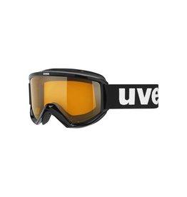 UVEX UVEX 16/17 GOGGLE FIRE RACE BLACK LASERGOLD LITE S1