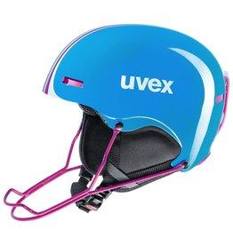 UVEX UVEX 16/17 SKI HELMET HLMT 5 RACE CYAN-PINK