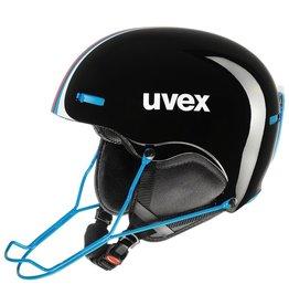 UVEX UVEX 16/17 SKI HELMET HLMT 5 RACE BLACK-BLUE