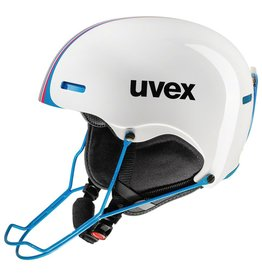 UVEX UVEX 16/17 SKI HELMET HLMT 5 RACE WHITE-BLUE