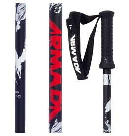 ARMADA ARMADA 16/17 SKI POLES LEGION MEN'S BLACK