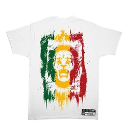 TALL T PRODUCTIONS TALL T PRODUCTION RASTA LION WHITE