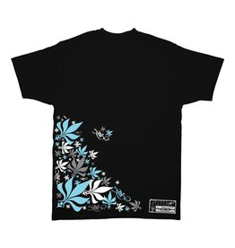 TALL T PRODUCTIONS TALL T PRODUCTION THROWBACK LEAF BLACK/SKY BLUE