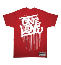 TALL T PRODUCTIONS TALL T PRODUCTION ONE LOVE RED/WHITE