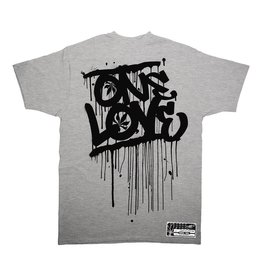 TALL T PRODUCTIONS TALL T PRODUCTION ONE LOVE ATHLETIC GREY/BLACK