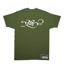 TALL T PRODUCTIONS TALL T PRODUCTION CLASSIC LOGO OLIVE/WHITE