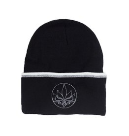 TALL T PRODUCTIONS TALL T PRODUCTION STAMP STRIPE BEANIE BLACK/GREY/WHITE
