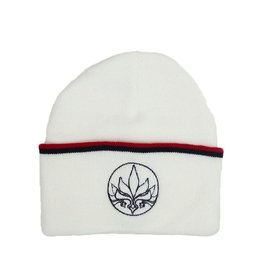 TALL T PRODUCTIONS TALL T PRODUCTION STAMP STRIPE BEANIE WHITE/RED/BLACK