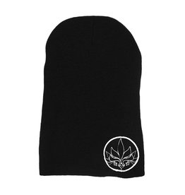 TALL T PRODUCTIONS TALL T PRODUCTION STAMP SLOUCH BEANIE BLACK/WHITE
