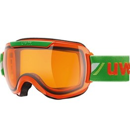 UVEX UVEX 16/17 GOGGLE DOWNHILL 2000 RACE ORANGE-GREEN LASERGOLD LITE S1