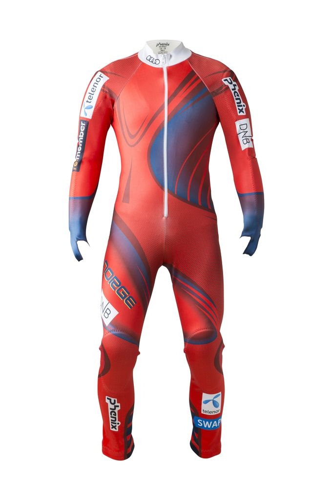 PHENIX PHENIX 2018 RACE SUIT NORWAY ALPINE TEAM GS RED