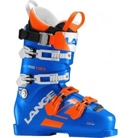 LANGE LANGE 2018 SKI BOOT RS 130 (POWER BLUE) 97MM