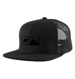 K2 SPORTS K2 HAT TRUCKER HAT BLACK 0/S