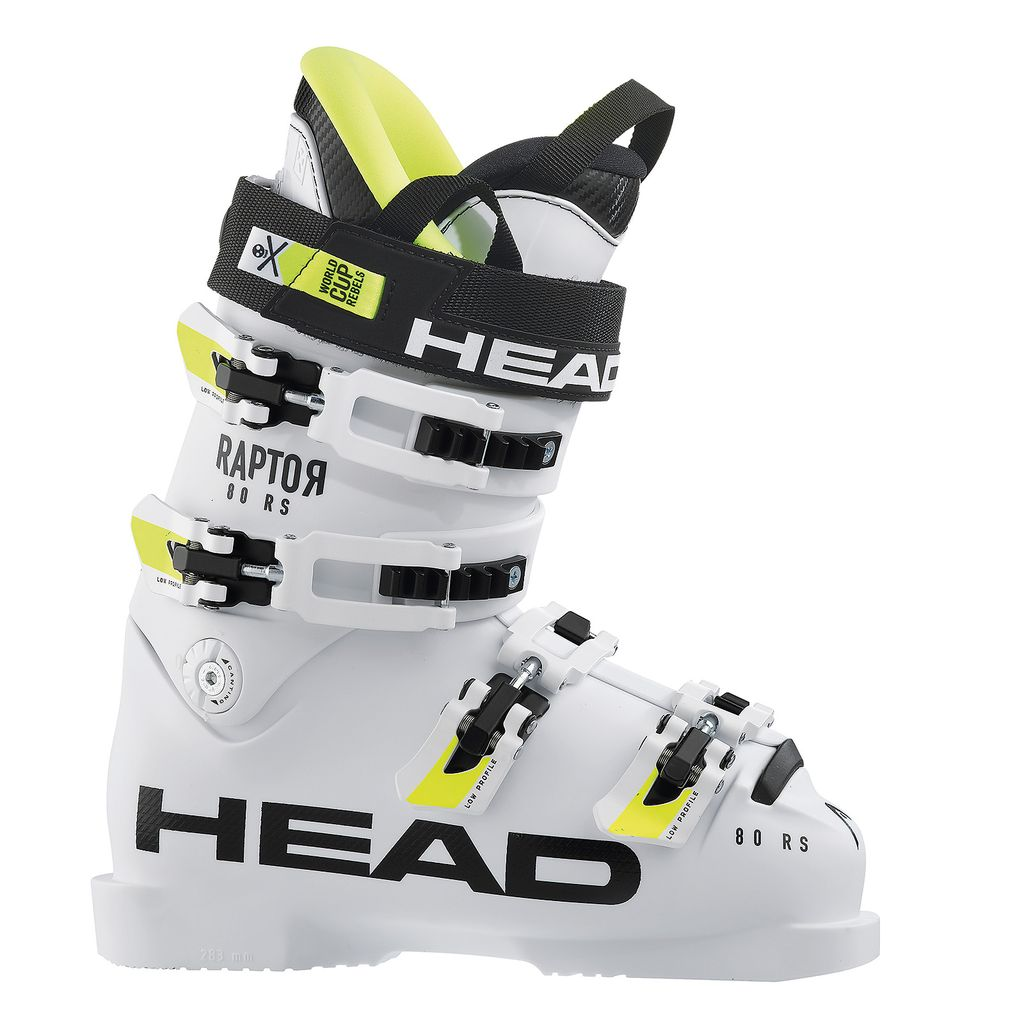 HEAD/TYROLIA HEAD 2018 SKI BOOT RAPTOR 80 RS WHITE