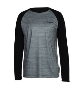 ARMADA ARMADA 2018 BASE LAYER CONTRA CREW L/S TOP HEATHER GREY