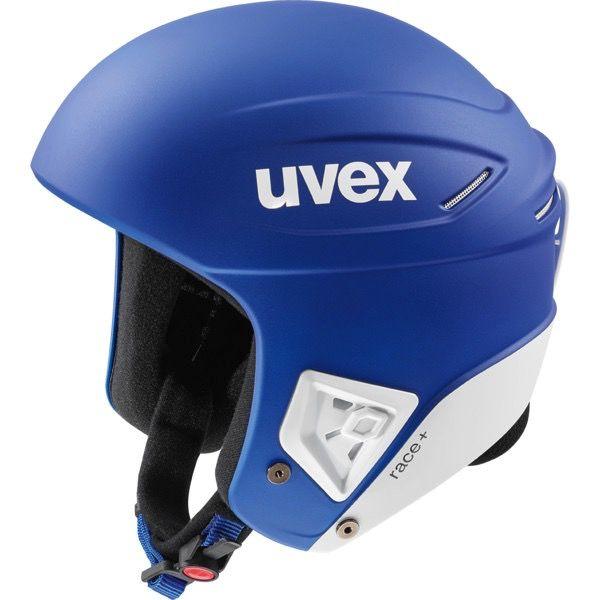 UVEX UVEX 2018 SKI HELMET RACE+ FIS COBALT-WHITE MAT
