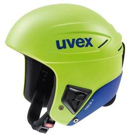 UVEX UVEX 2019 SKI HELMET RACE+ FIS LIME-COBALT MAT