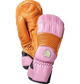 HESTRA HESTRA 2018 SKI GLOVE WOMENS FALL LINE MITT ORANGE/CERISE