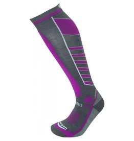 LORPEN LORPEN SKI SOCK WOMENS T3 SKI LIGHT LIGHT/GREY