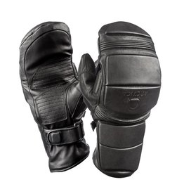 ARCTICA ARCTICA SKI GLOVE LEATHER RACE MITTEN BLACK