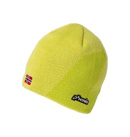 PHENIX PHENIX 2018 BEANIE NORWAY ALPINE TEAM JUNIOR KNIT LIME