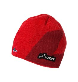 PHENIX PHENIX 2018 BEANIE NORWAY ALPINE TEAM KNIT RED