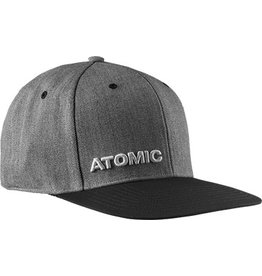 ATOMIC ATOMIC SNAPBACK HAT ALPS CAP HEATHER GREY