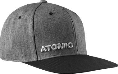 ATOMIC ATOMIC SNAPBACK HAT ALPS CAP HEATHER GREY