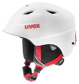 UVEX UVEX 2018 SKI HELMET AIRWING 2 PRO WHITE-RED MAT