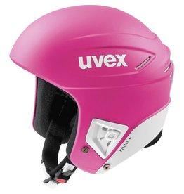 UVEX UVEX 2018 SKI HELMET RACE+ FIS PINK-WHITE MAT