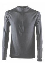 BULA BULA MEN'S THERMAL 1/4 ZIP TOP GREY