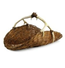 Napa Home and Garden Caribou Magazine Basket