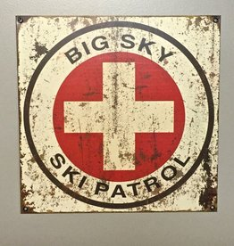 Meissenburg Designs Ski Patrol Metal Sign