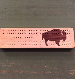JW Roberts Woodworking Cribbage Board