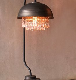 Kalalou Metal Dome Table Lamp