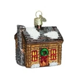 Old World Christmas Log Cabin